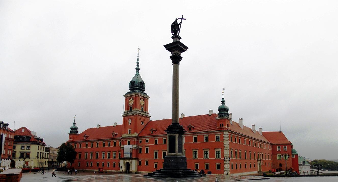 Варшава. Замковая площадь