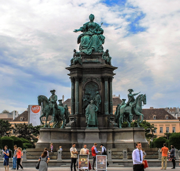 Памятник Марии Терезии