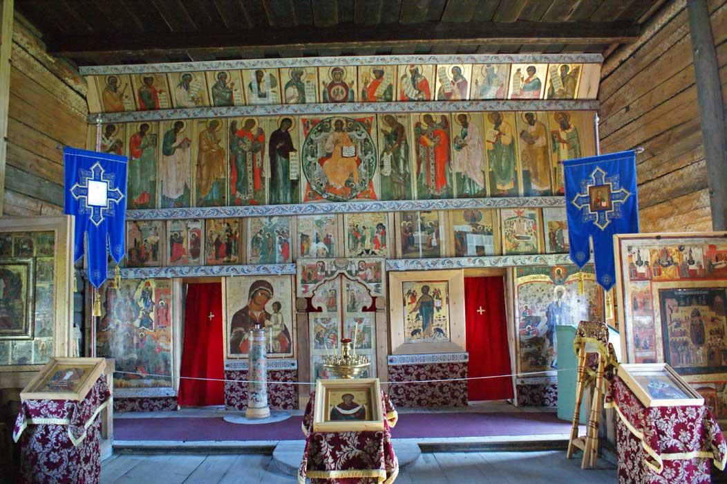 Покровская церковь. Иконостас