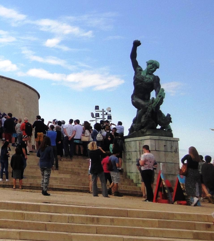 У Статуи Свободы