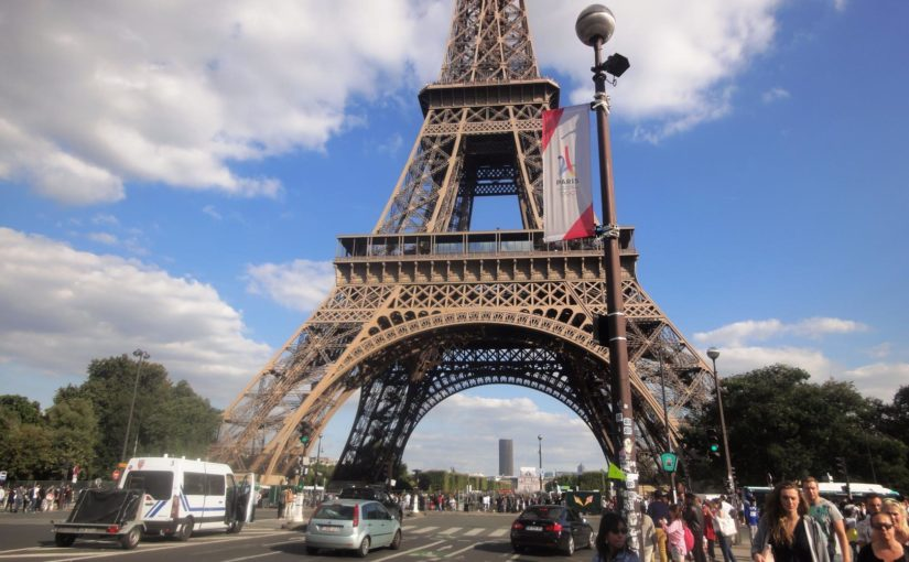 Три дня в Париже