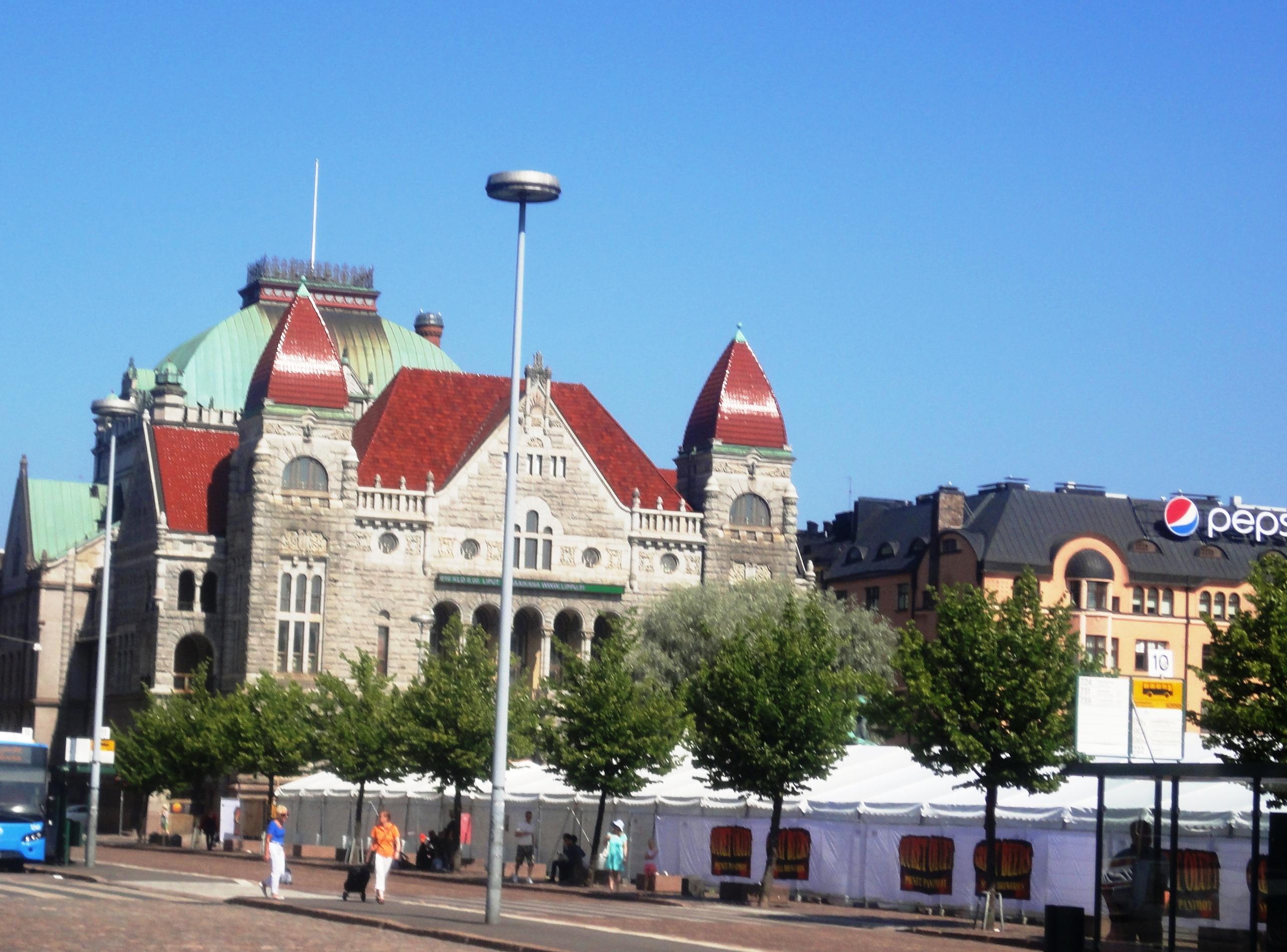 Финский театр в Хельсинки