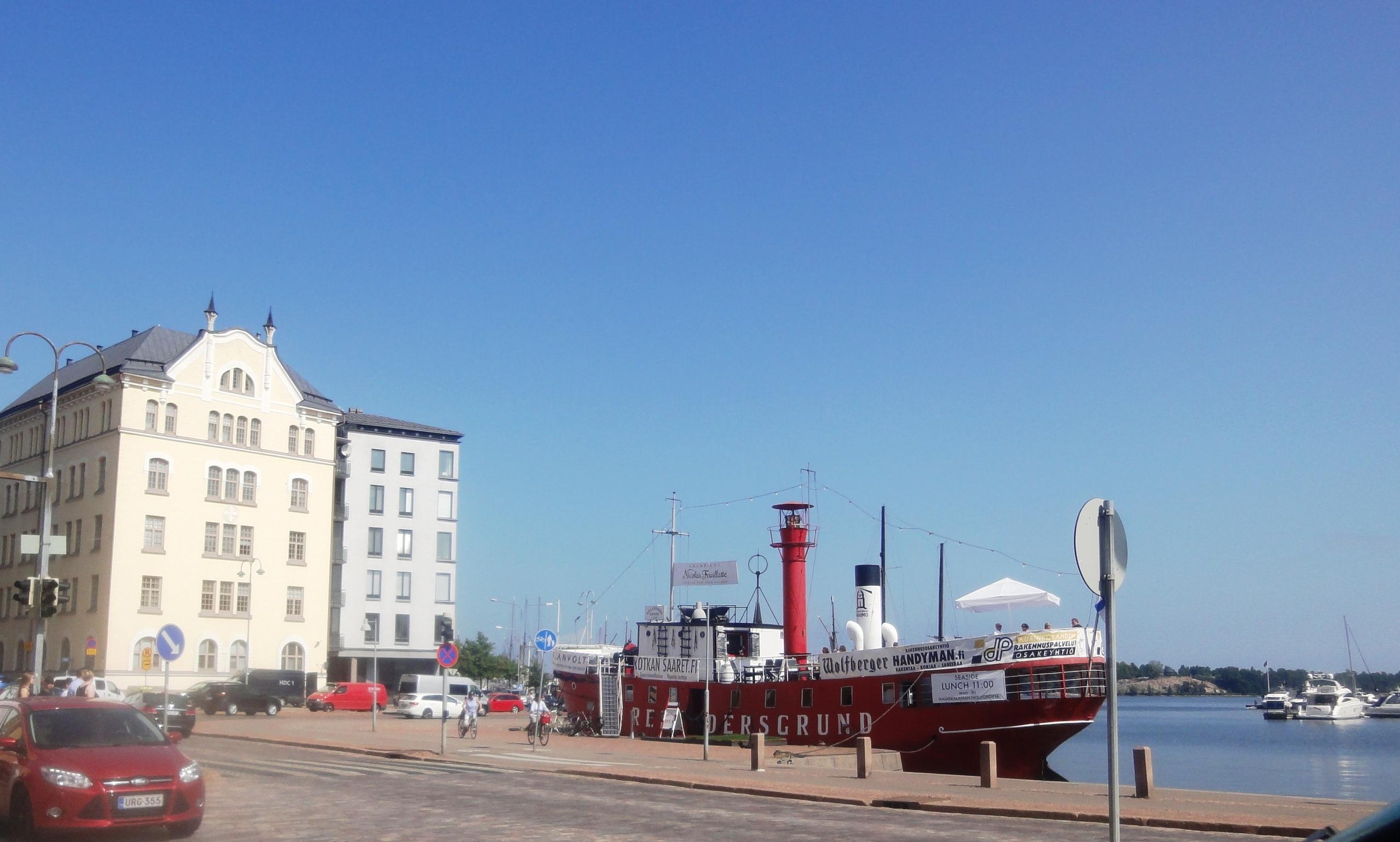 О Финляндии можно сказать - морская страна