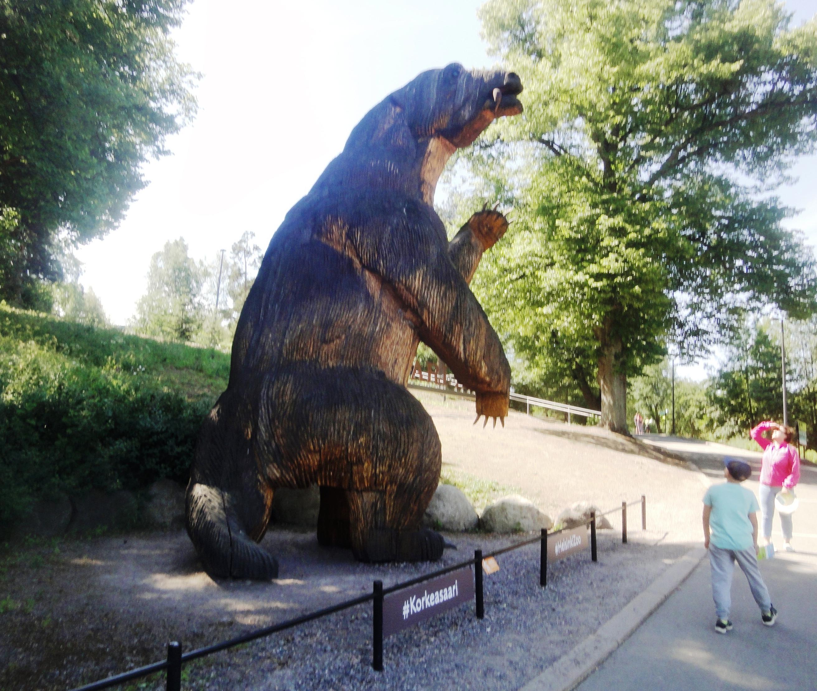 В зоопарке Коркеасаари