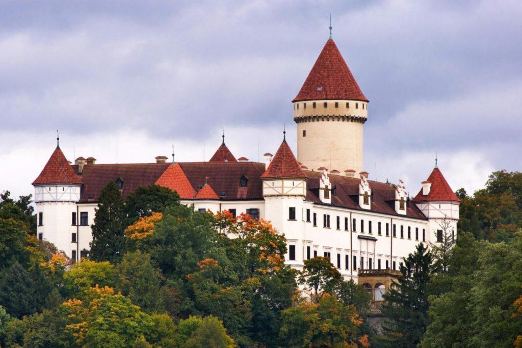 Чехия. Замок Конопиште