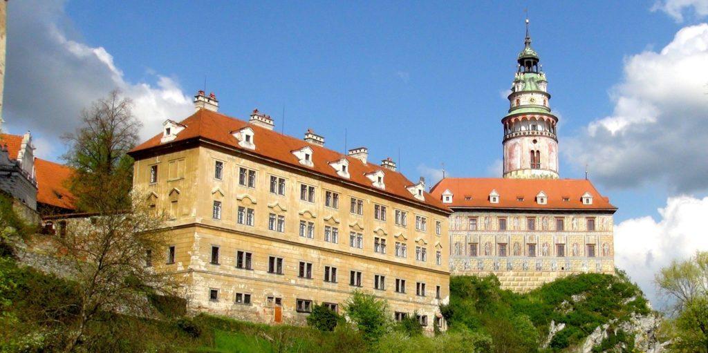 Чехия. Крумловский замок